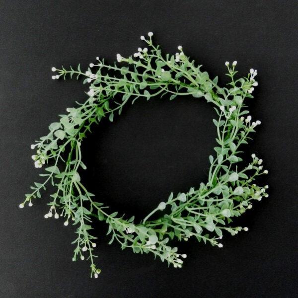 headband noiva flores