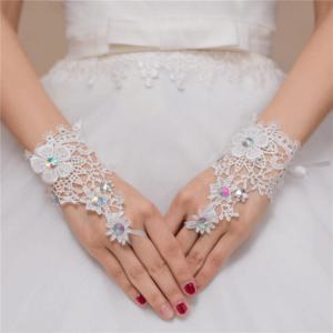 Luva para Noiva Elegante