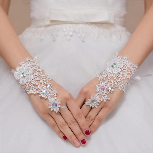 luva para noiva