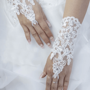 luva para noivas